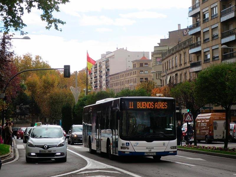 trafico autobus