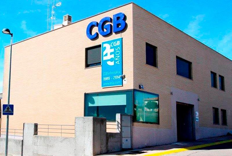 La sede de CGB.