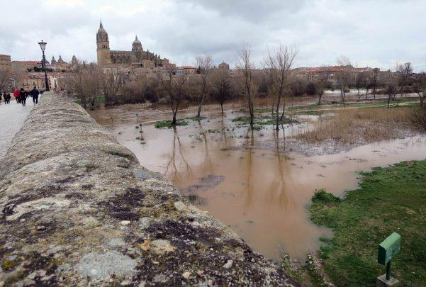 rio tormes desbordado