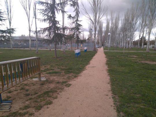 aldehuela zona deportiva acotada