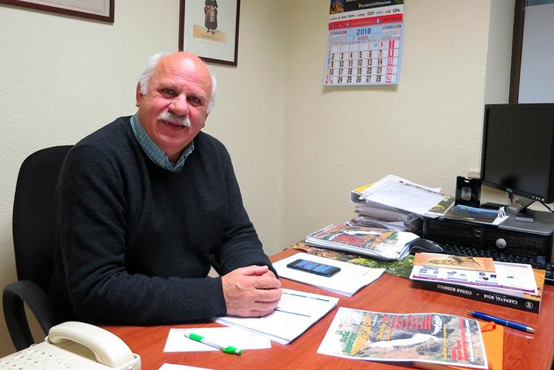 José Francisco Bautista, alcalde de Hinojosa de Duero y diputado socialista.