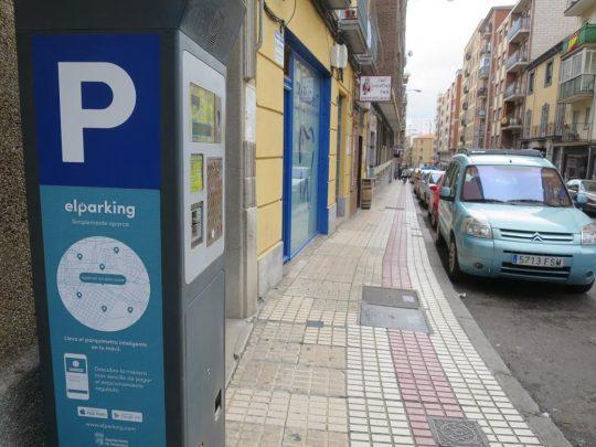 ora aparcamiento zona azul