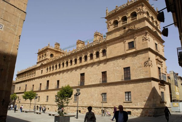 El Palacio de Monterrey será uno de los inmuebles que se podrán ver en los Paseos por Salamanca.