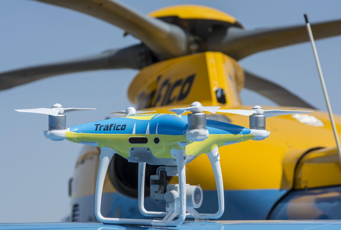 trafico drones DGT