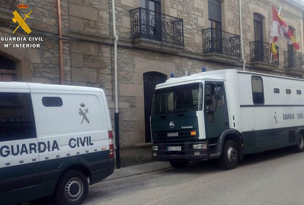 Detencion Robo Violencia juzgado Vitigudino guardia civil