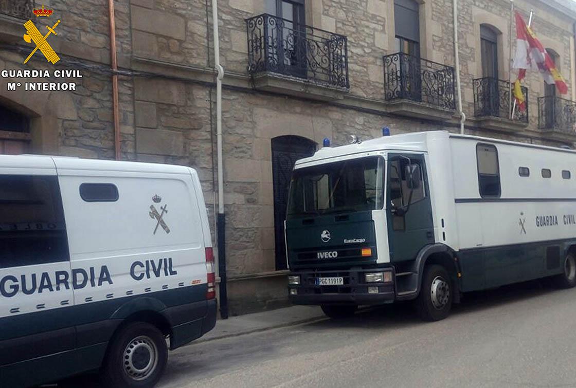 Detencion Robo Violencia juzgado Vitigudino guardia civil