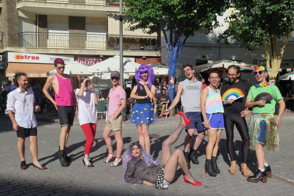carrera tacones orgullo gay lgtb+