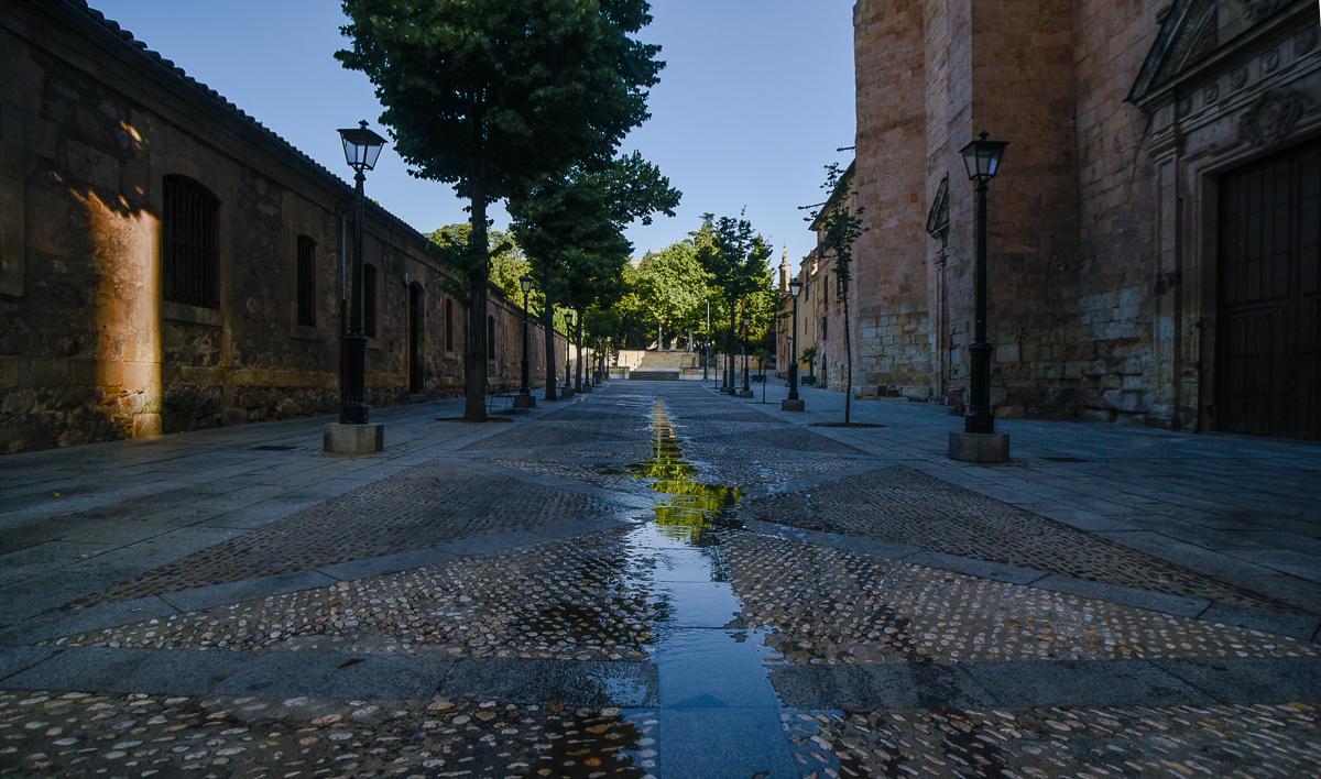 La calle de las Úrsulas, una de las más recoletas del Casco Histórico de la ciudad que encierra sorpresas.