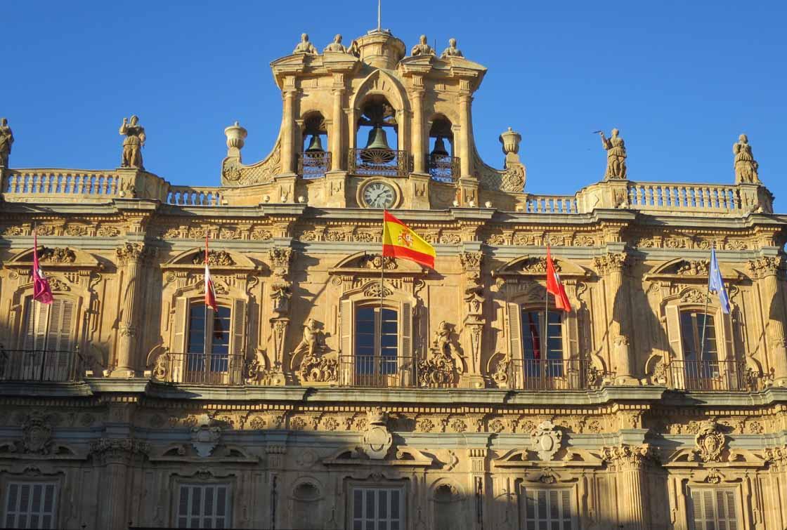 ayuntamiento fachada plaza mayor