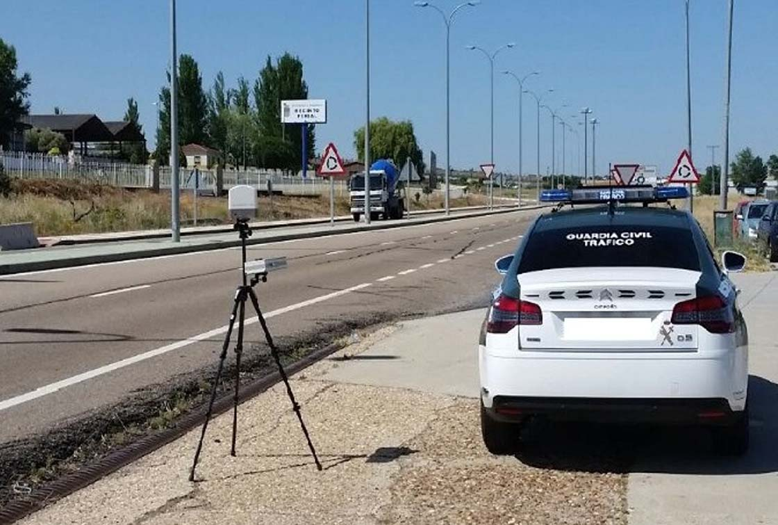 guardia civil trafico radar