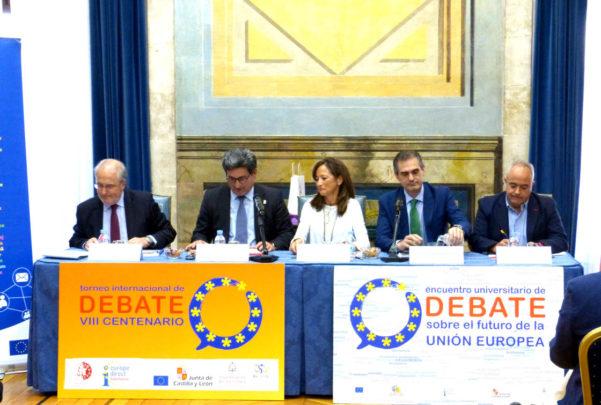 Alumnos de 8 universidades debaten en Salamanca sobre el proyecto ...