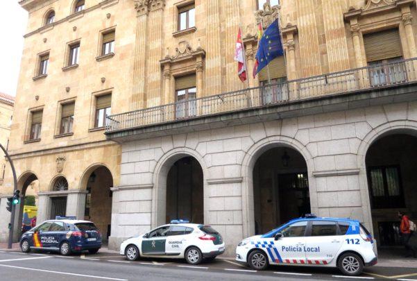 audiencia provincial coches policiales