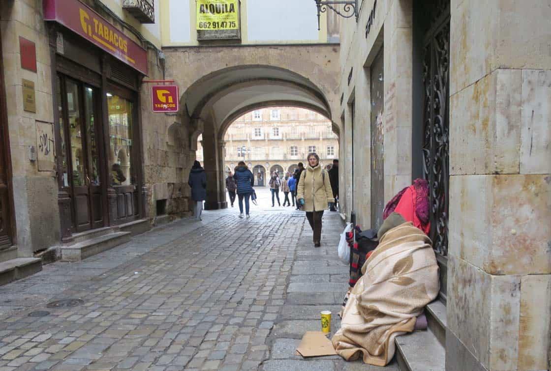 mendigo pobreza