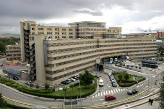 Hospital Clinico de Salamanca.Foto: Lukasz Michalak.