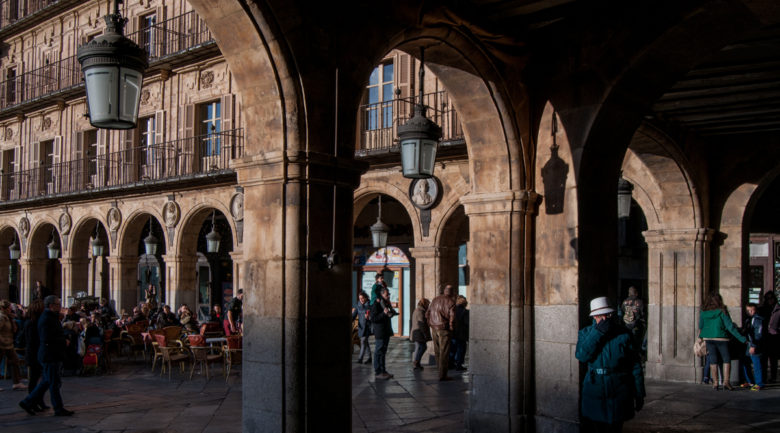 La Plaza Mayor de Salamanca, uno de los rincones con encanto de Salamanca. Te ofrecemos diez más.