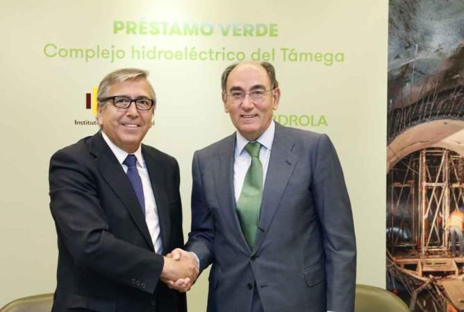 José Carlos García de Quevedo e Ignacio Galán