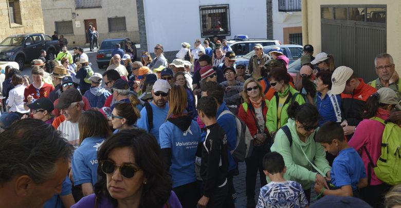 Saucelle, marcha solidaria, AFA, Asociación de Familiares y Enfermos de Alzheimer, Salamanca