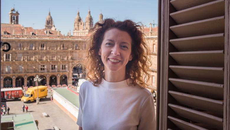Ana Suárez, primera teniente de Alcalde de Salamanca. Foto. Archivo