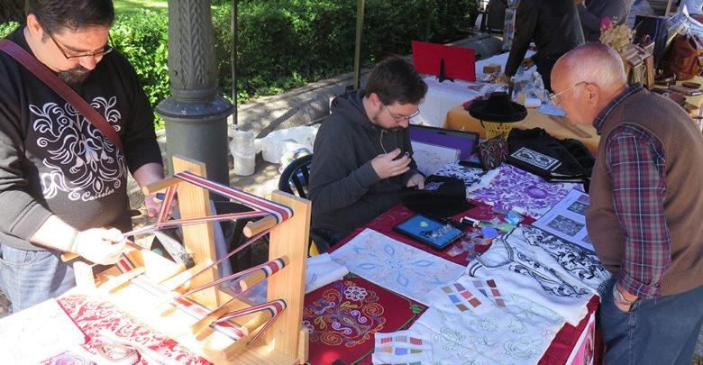Jornada de Artesanía, Juegos tracionesles, plaza de Anaya, artesanía. (7)