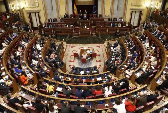 congreso diputados sesion constitutiva XIII legislatura mayo 2019