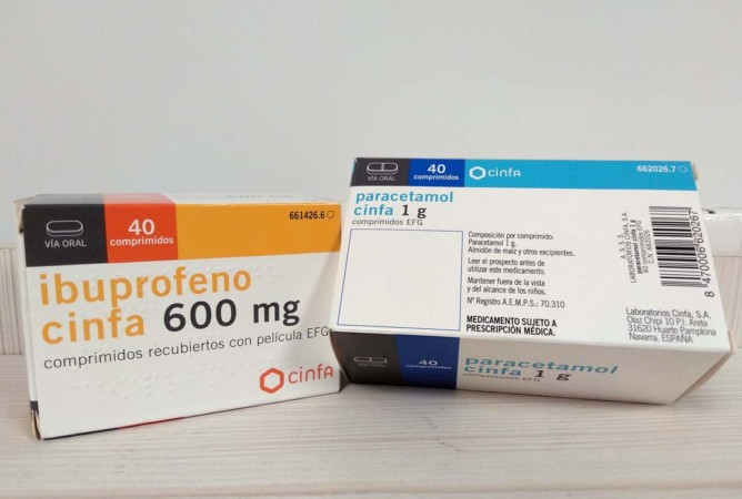 ibuprofeno paracetamol receta medicamentos