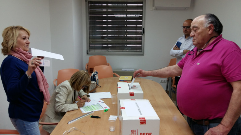 Elección diputados socialistas en Salamanca