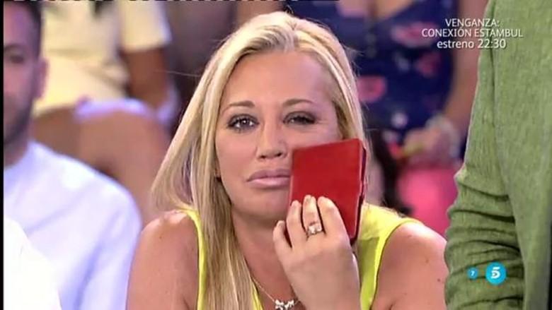 elén Esteban. Foto. Telecinco.