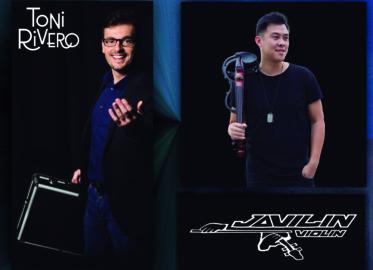 El mago Toni Rivero y el músico Javi Lin actuarán este viernes a las 20.30 horas en la plaza del barrio de Vidal.
