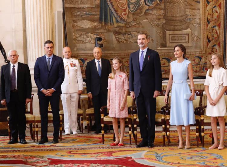 Princesa de Asturias, Leonor, Sofia, Familia Real