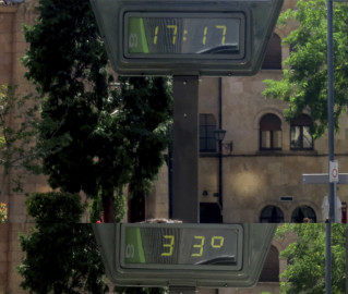 Salamanca, ola de calor, termometro