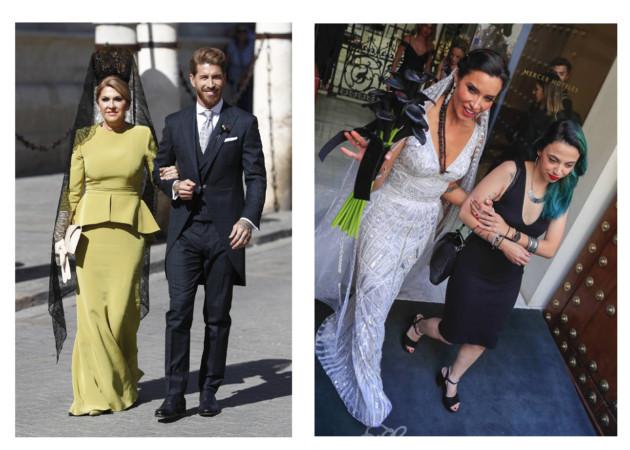 Serigo Ramos y Pilar Rubio protagonizan en Sevilla la boda del año.