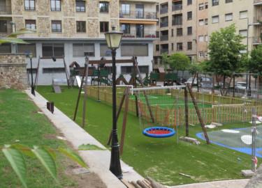 Zona infantil del parque de San Francisco. (7)