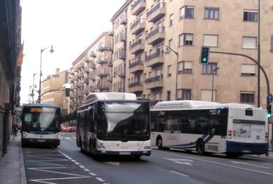 autobus urbano metropolitano gran via