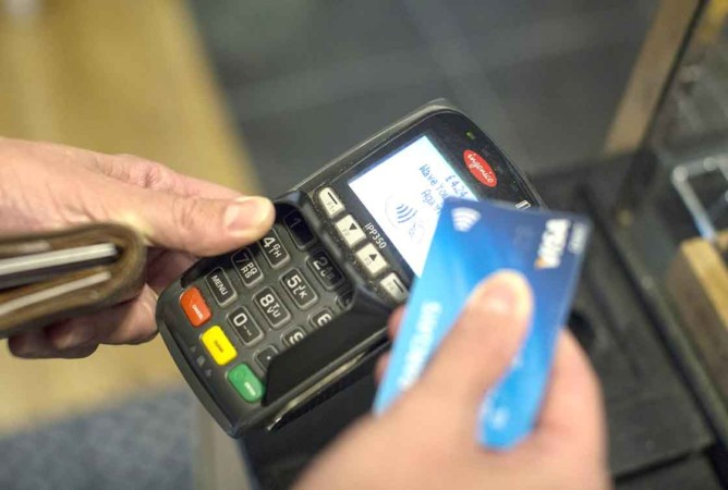 contactless tarjeta credito pago