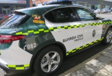 guardia civil trafico coche
