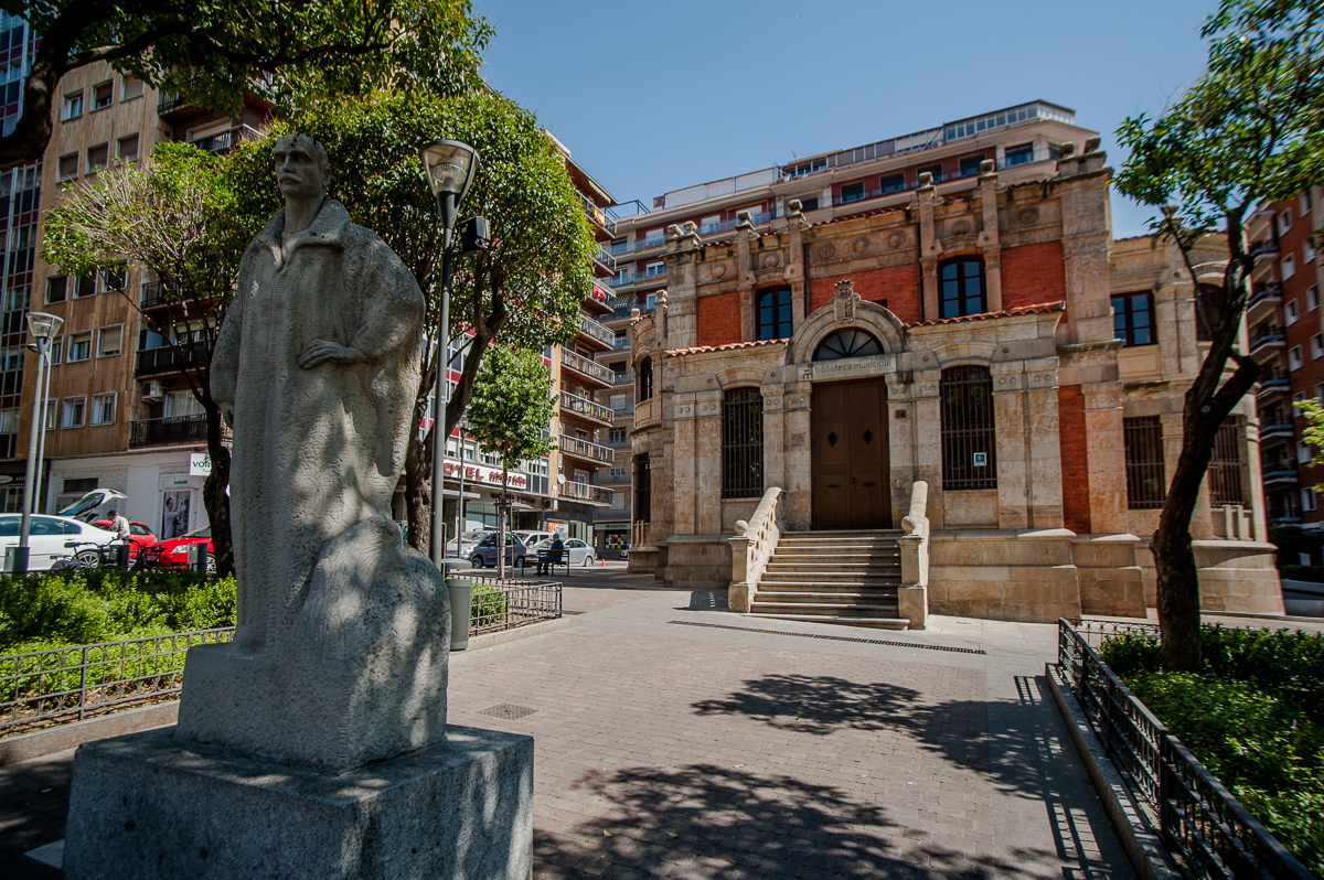biblioteca de Gabriel y Galán, Joaquí Secall, Salamanca