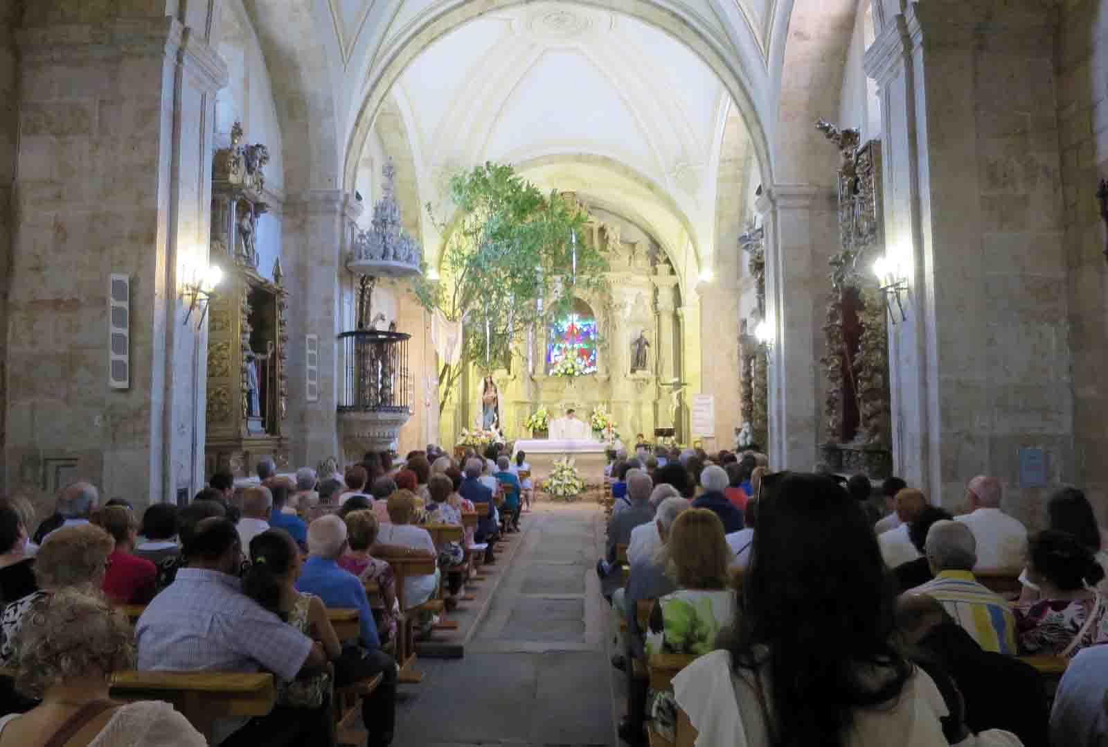 villamayor fiestas virgen remedios misa procesion
