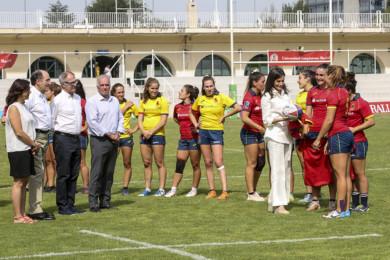 Doña Letizia selección femenina de rugby Ignacio Galán Iberdrola