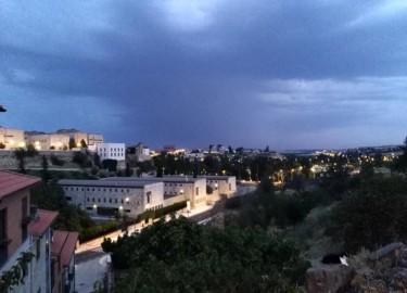 Tormenta en Salamanca.
