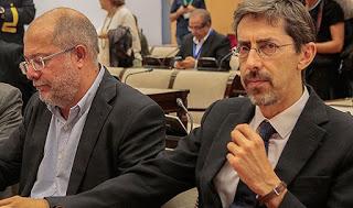 Igea y Navarro cuando ambos eran diputados del Congreso