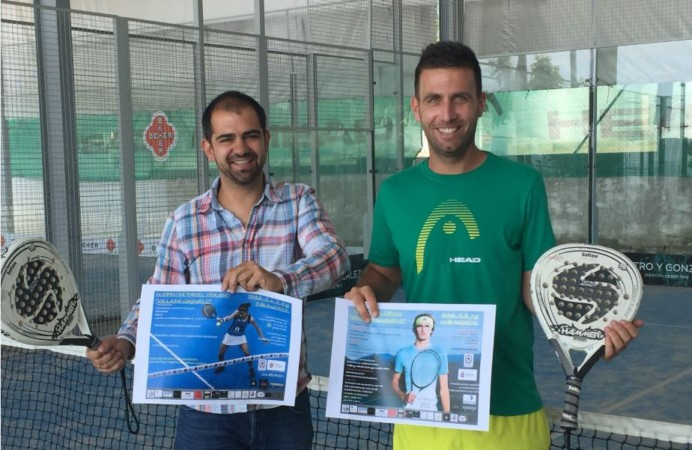 guijuelo padel tenis Carlos Arasa y Javier Rubion