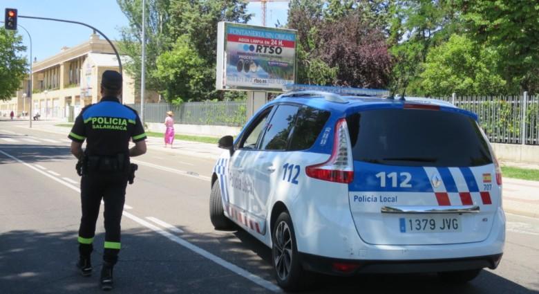 La Policía Local de Salamanca efectuará del 28 a 31 de octubre controles especiales de furgonetas en colaboración con la DGT.