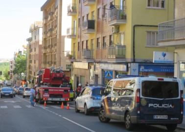 bomberos camino aguas rescate
