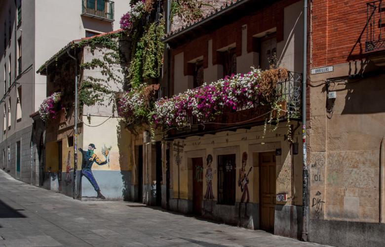 Los edificios de interés de la calle Varillas son del siglo XIX. Salamanca