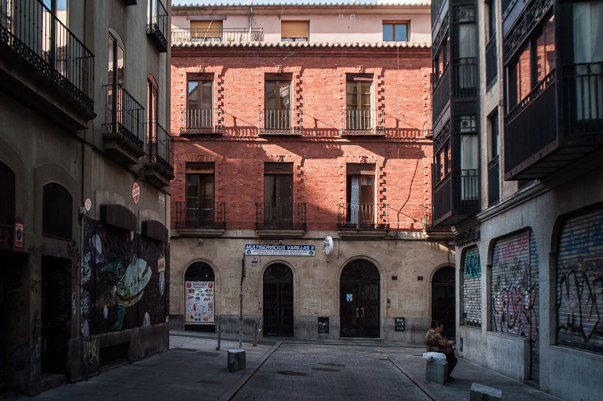 Edificio ubicado en la calle Varillas, 13. Salamanca