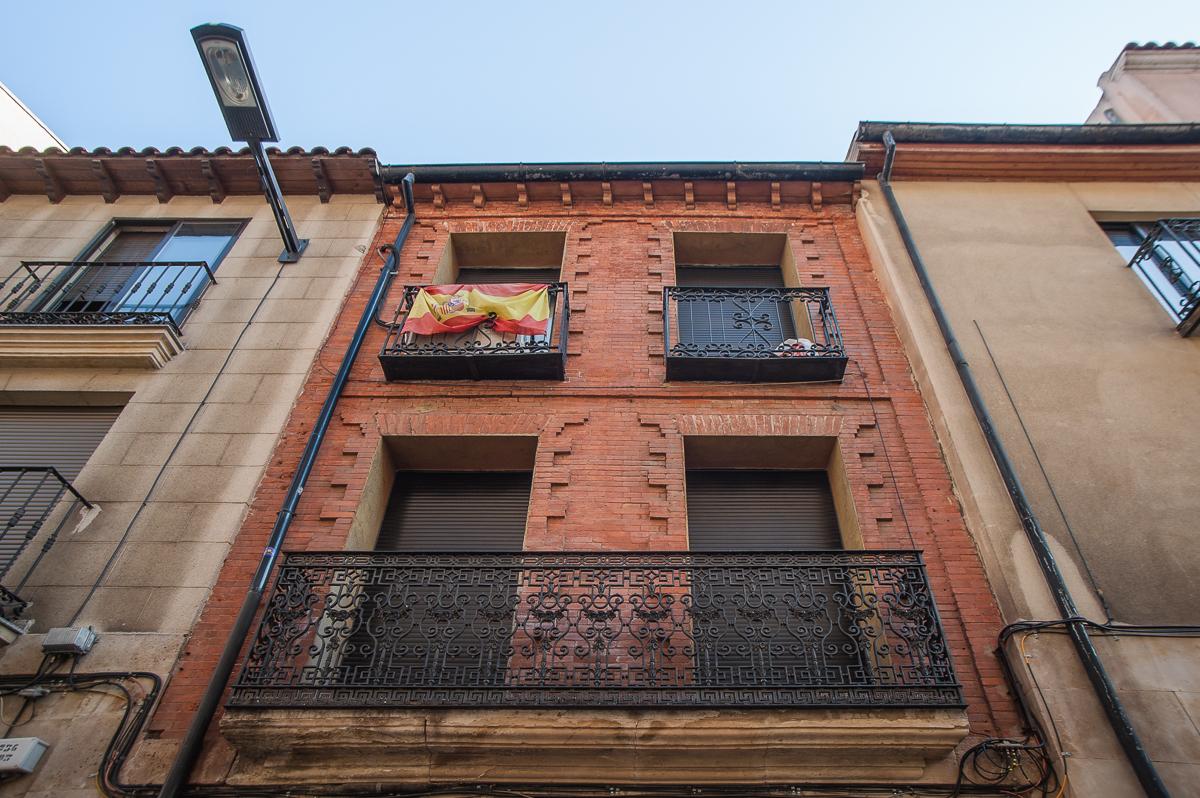 Edificio ubicado en la calle Varillas, 20. Salamanca