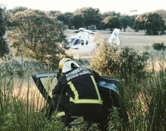 cuatro calzadas accidente trafico