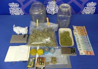 droga y dinero intervenidos peñuelas
