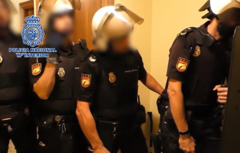robo viviendas georgianos policia nacional