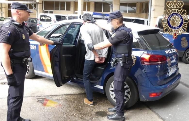 violacion multiusos policia